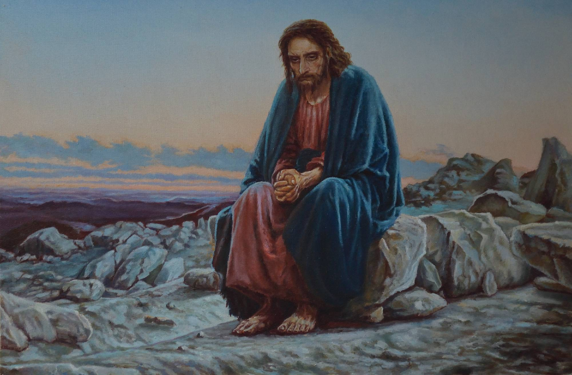 Jesus in Wilderness